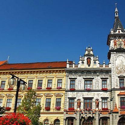 3–5denní pobyt pro 2 osoby se snídaní a lahví vína v hotelu Koruna*** v jižních Čechách