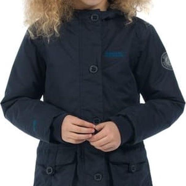 Dětský zimní kabát Regatta RKP170 Totteridge Navy 5-6y3