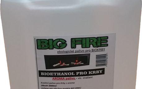 Pe-po palivo do biokrbů 5l s aroma dle výběru Borovice