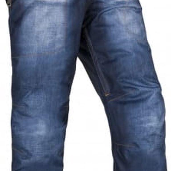 Pánské snowboardové kalhoty KILPI JEANSTER-M Modrá L2