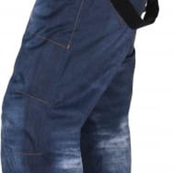 Pánské snowboardové kalhoty KILPI JEANSTER-M Modrá L3