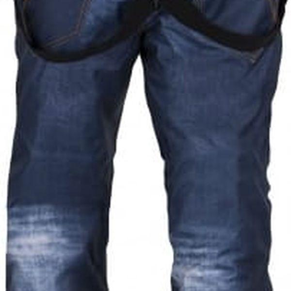 Pánské snowboardové kalhoty KILPI JEANSTER-M Modrá L4