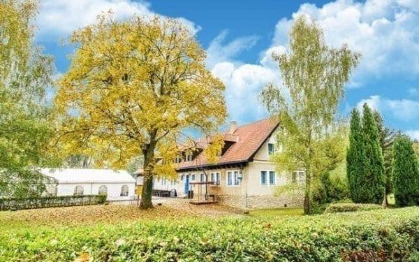 3–6denní pobyt pro 2 s možností polopenze přímo pod hradem Landštejn v jižních Čechách2