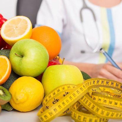 Konzultace výživy s nutriční terapeutkou a analýza složení těla