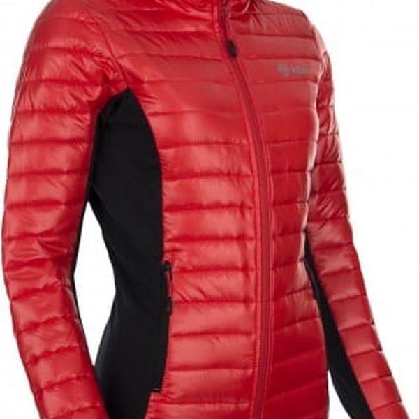 Dámská zateplená bunda KILPI NEKTARIA červená 342