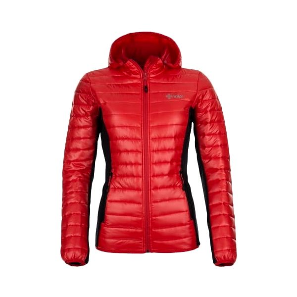 Dámská zateplená bunda KILPI NEKTARIA červená 34