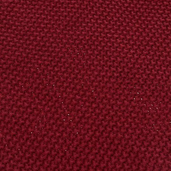 Tmavě červená dutá šála Selected Homme Tube3