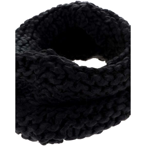 Černá dutá šála VILA Craft3