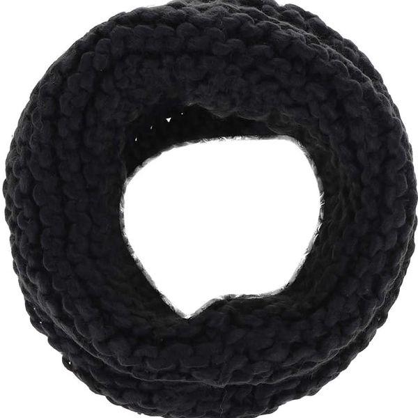 Černá dutá šála VILA Craft