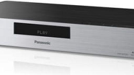 3D Blu-Ray přehrávač Panasonic DMP-BDT570EG stříbrný