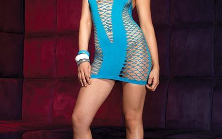 Šaty Halter Mini Dress turqouise