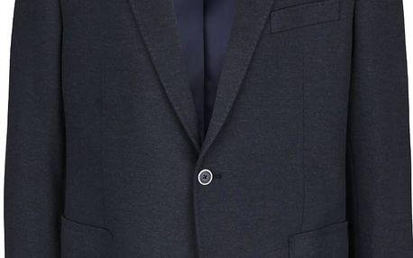 Tmavě modrý pánský blazer bugatti