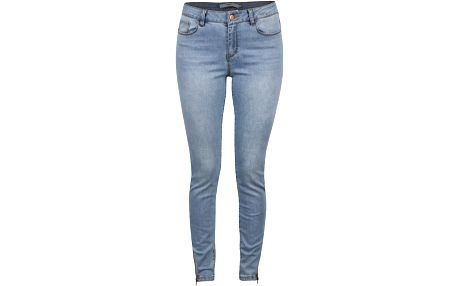 Světle modré slim džíny Vero Moda Seven