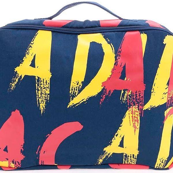 Tmavě modrá dámská taška s potiskem adidas Originals Paris2