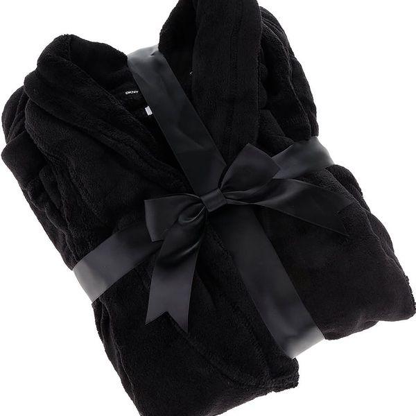 Černý dámský župan DKNY2