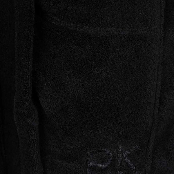 Černý dámský župan DKNY3