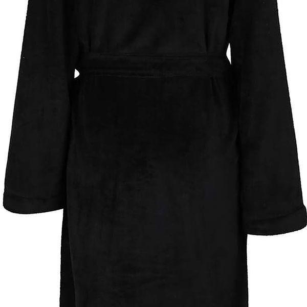 Černý dámský župan DKNY4