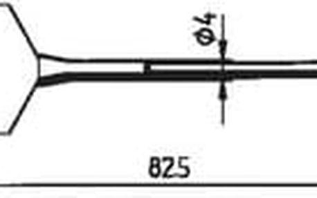 Odpájecí pár hrotů Ersa FDLF400, 40 mm