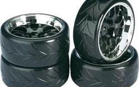 Silniční kolo Absima Drifter A , plástev, 12 mm 6-hran, 1:10,černá, 4 ks