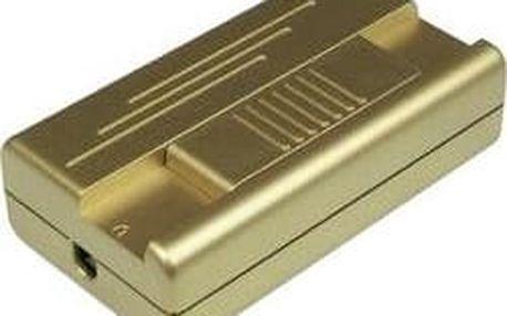 Kabelový stmívač posuvný Ehmann, 2551C0100, 230 V/AC, 20 - 400 W, zlatá