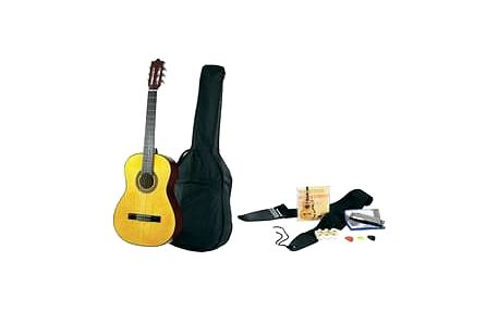 Sada akustické kytary C22 Natural, velikost 4/4