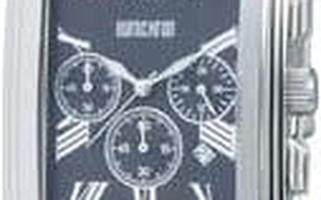Ručičkové náramkové hodinky Eurochron Chrono 330 Quartz, pásek z nerezové oceli, stříbrná