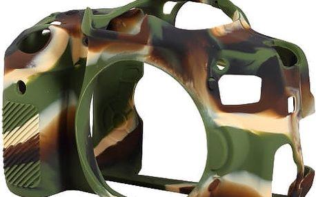Easy Cover silikonový obal pro Canon 650D / 700D, maskáčová - ECC650DC