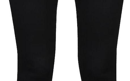 Černé elastické skinny kalhoty s ozdobnými zipy VILA Commit