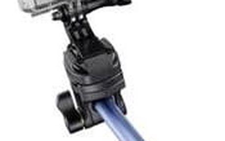 Selfie tyč Mantona Ruční stativ 8 cm 1/4palcové modrá vč. řemínku na ruku