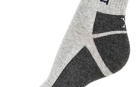 Dámské sportovní ponožky šedá