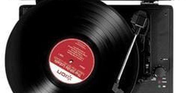 Kufříkový USB gramofon ION Vinyl Motion2