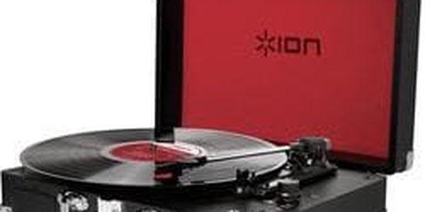Kufříkový USB gramofon ION Vinyl Motion