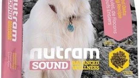 Granule NUTRAM Sound Senior Dog 13,6 kg + Doprava zdarma