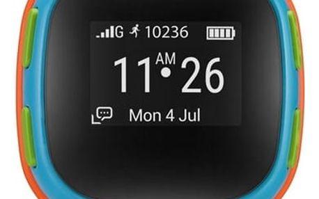 ALCATEL MOVETIME Track&Talk Watch dětské hodinky oranžové/modré