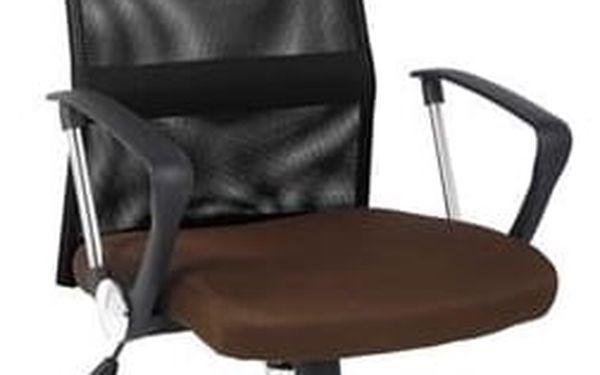 Kancelářská židle Vire oranžová2