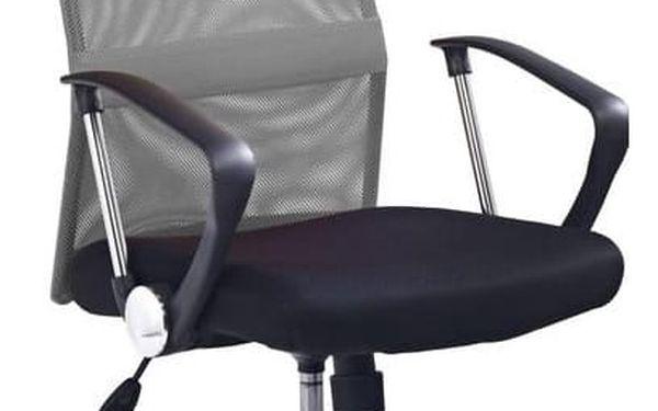 Kancelářská židle Vire oranžová3