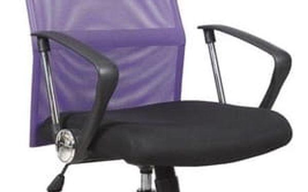 Kancelářská židle Vire oranžová4