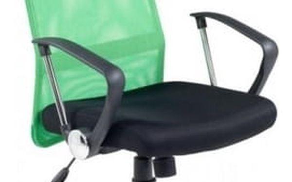 Kancelářská židle Vire oranžová5