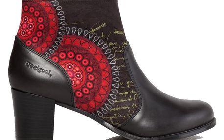 Desigual podzimní kotníkové boty Bolas Rojas Cris - 41