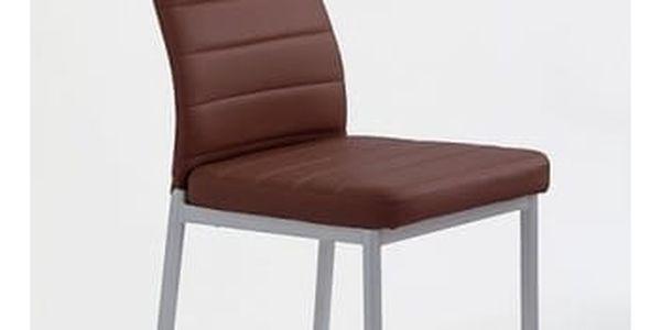 Kovová židle K70 bílá2