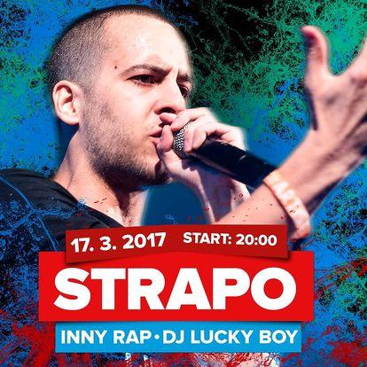 Raper Strapo a jeho hiphopová show v Semilassu