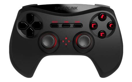 Speed Link STRIKE NX Gamepad - Wireless - for PS3, black