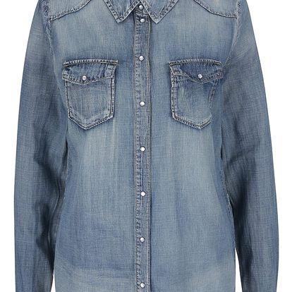 Modrá džínová košile ONLY Stone