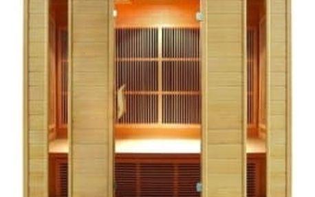 HEALTHLAND DeLuxe 4004 Carbon infrasauna s karbonovým topidlem podlahové topení zdarma!!!