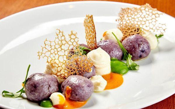 Vegetariánské degustační menu v restauraci Etnosvět 3