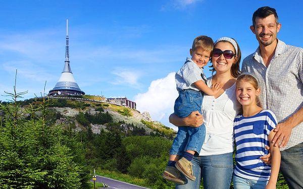 Rodinný pobyt v ryzí přírodě Jizerských hor s výhledem na Ještěd3