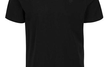 Černé pánské triko s potiskem Perry Ellis Tour