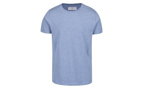 Modré žíhané basic triko s krátkými rukávy Lindbergh