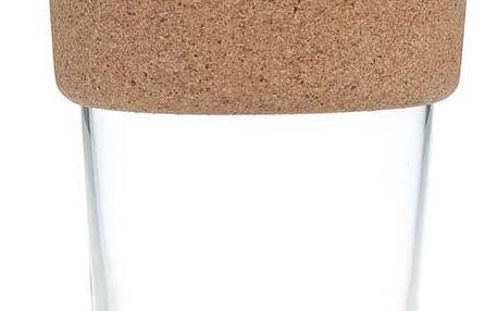 Designový cestovní skleněný hrnek KeepCup Brew Saffron Cork Large