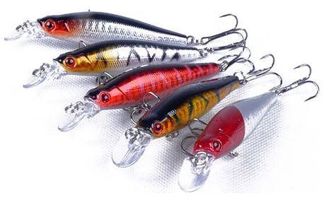 Sada rybářských nástrah - 5 kusů